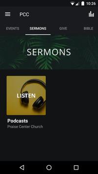 Praise Center Church screenshot 1
