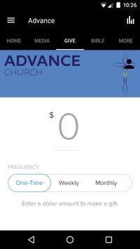 Advance Church Silver Spring apk screenshot