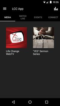 Life Change Church App poster