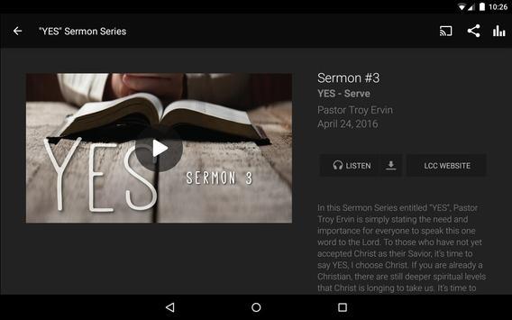 Life Change Church App screenshot 7