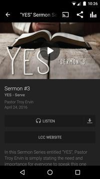 Life Change Church App apk screenshot