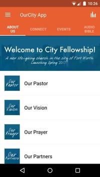 City Fellowship poster