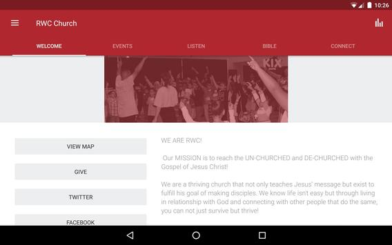 RWC Church apk screenshot