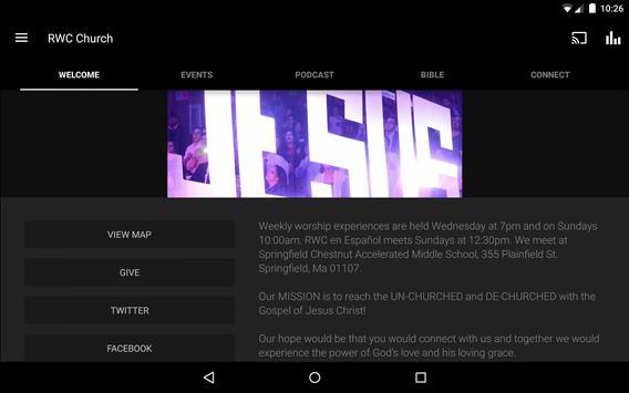 RWC Church apk screenshot