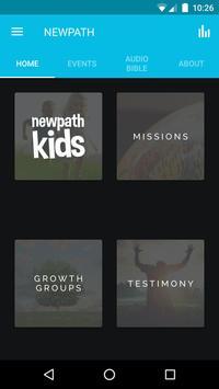 NEWPATH Church poster