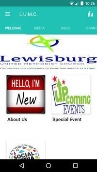 Lewisburg U.M.C. poster