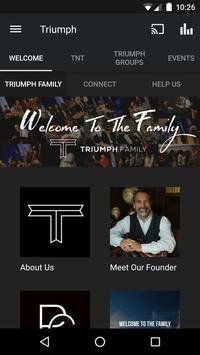 Triumph Family poster