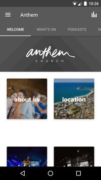 Anthem Church Australia poster