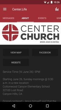 Center Church apk screenshot