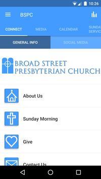 Broad Street Presbyterian poster