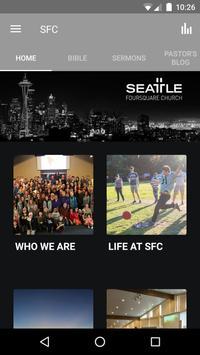Seattle Foursquare Church poster