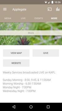 Applegate Christian Fellowship apk screenshot