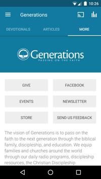 Generations with Vision apk screenshot