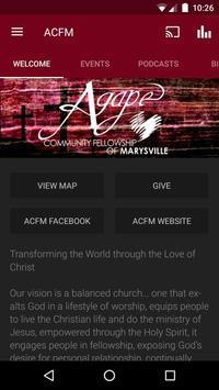ACFM Church App poster