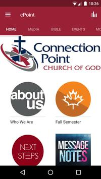 Connection Point Church of God poster