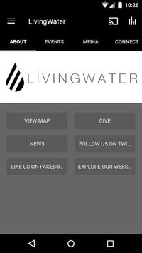 Go Living Water poster
