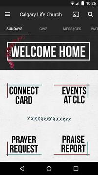 Calgary Life Church poster