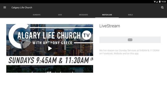 Calgary Life Church screenshot 5