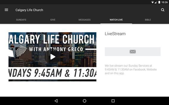 Calgary Life Church screenshot 8