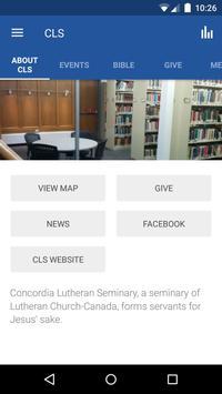 Concordia Lutheran Seminary poster