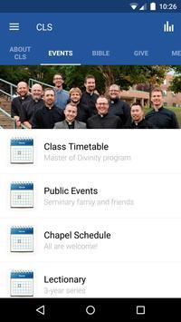 Concordia Lutheran Seminary screenshot 1