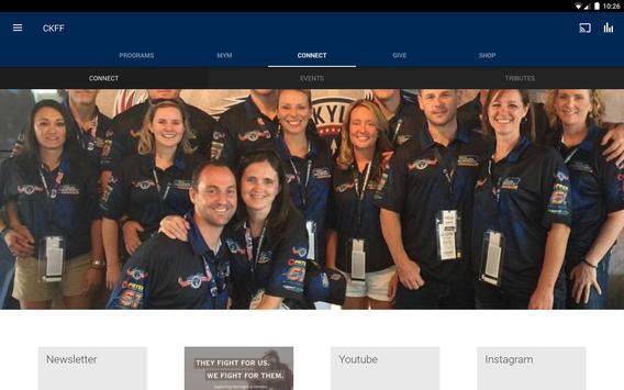 Chris Kyle Frog Foundation apk screenshot