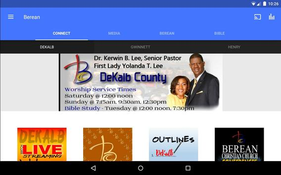 Berean Christian Church apk screenshot