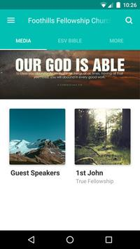 Foothills Fellowship poster