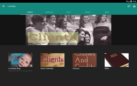 The Lovelady Center apk screenshot