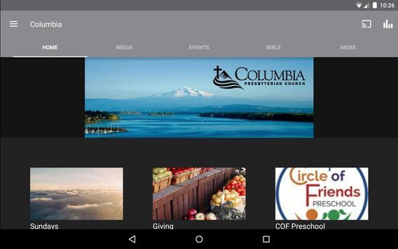 Columbia Presbyterian Church apk screenshot