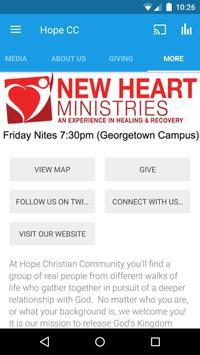 Hope Christian Community apk screenshot