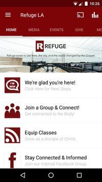 Refuge LA Church poster