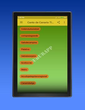 Canto de Canario Timbrado screenshot 2