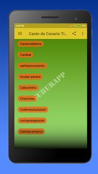 Canto de Canario Timbrado screenshot 3