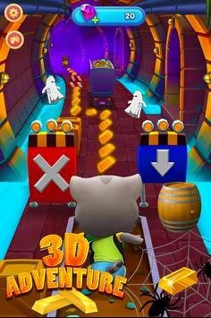 Tom subway rush : Talking Cat clash 3D apk screenshot