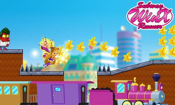 Subway Winx Runner screenshot 1