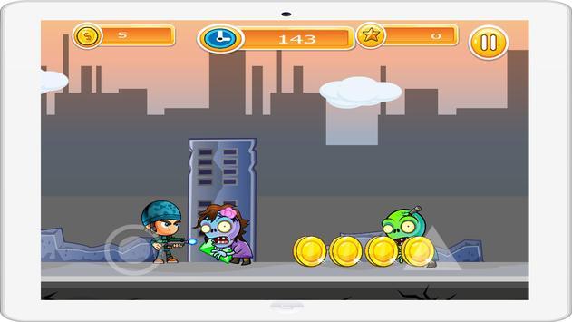 Zombie Shooter Runner screenshot 1