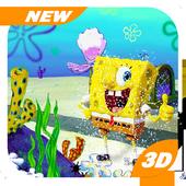 Subway Sponge Burger Rush : Legends Adventure icon