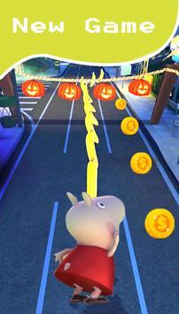 Pepa super pig adventure rush apk screenshot