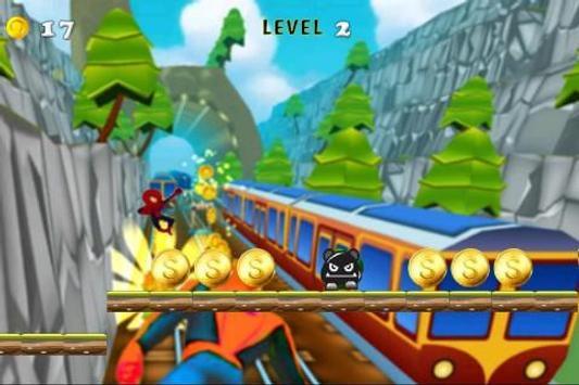 Subway Power Rush Running apk screenshot