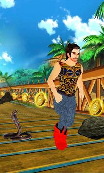 Subway Prince Jungle Run: Rope Dash screenshot 3