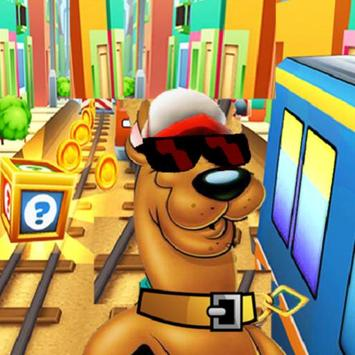 Subway Scooby Rush Surf poster