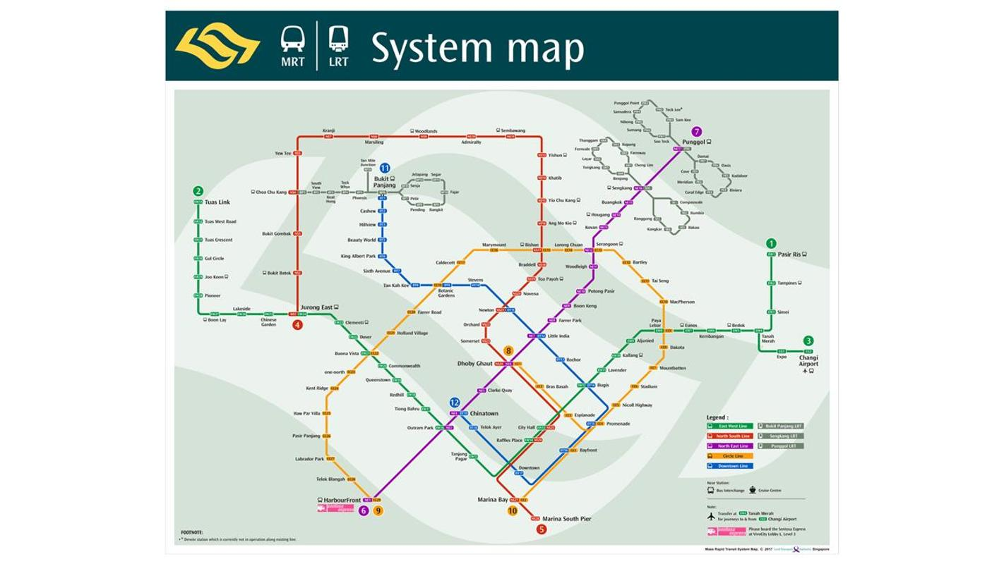 Singapore Subway Mrt Map 2018 For Android Apk Download