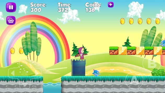 Subway Masha Running Adventure apk screenshot