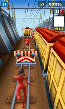 Subway Miraculous Ladybug Game Free apk screenshot