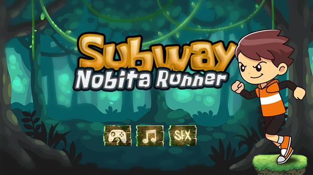 Subway Nobita Runner poster