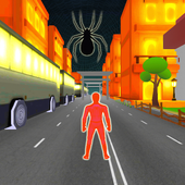 Spider Subway Surfers Man icon