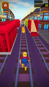 Subway Ninja Runner apk screenshot