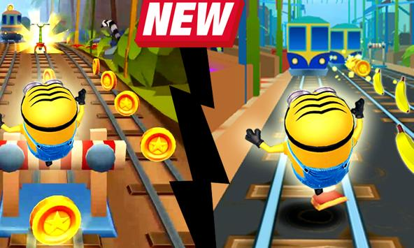 Subway Banana Run Surf screenshot 1