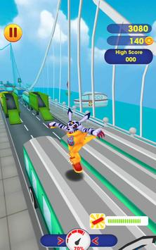 Subway Guildragomon Surf World City Adventure screenshot 2